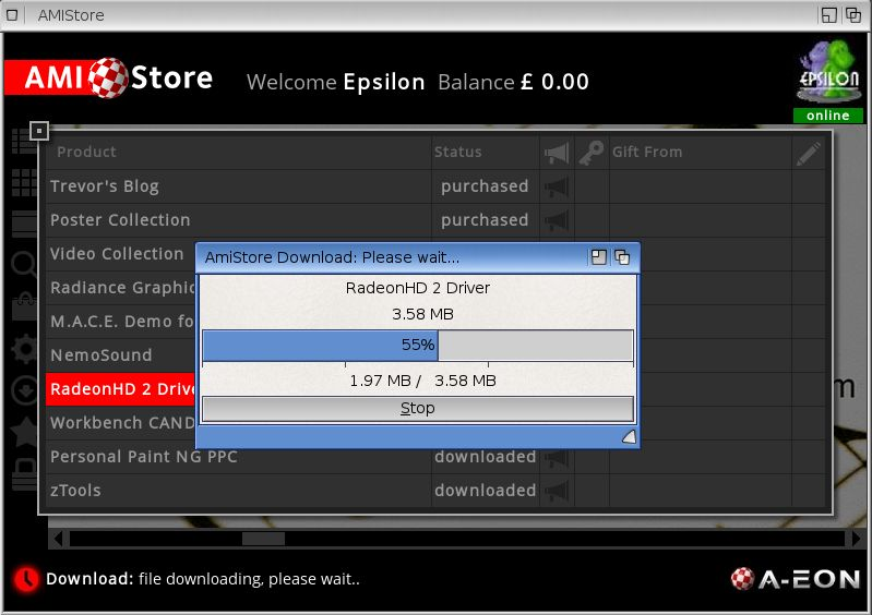 AmigaOS 4.1 Final Edition