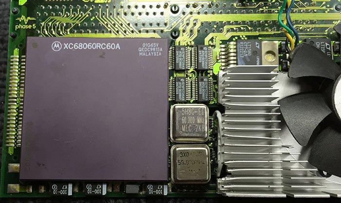 BlizzardPPC: surcadençage du PowerPC 603e et du 68060