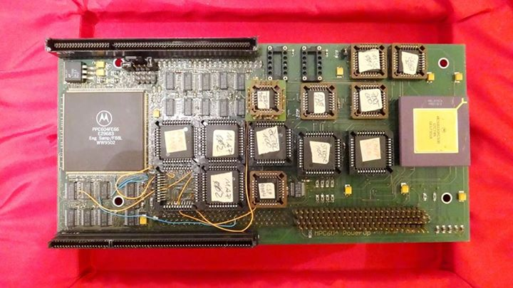 Carte PowerPC prototype Phase 5