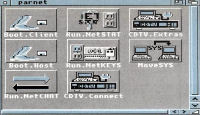 Connecter deux Amiga