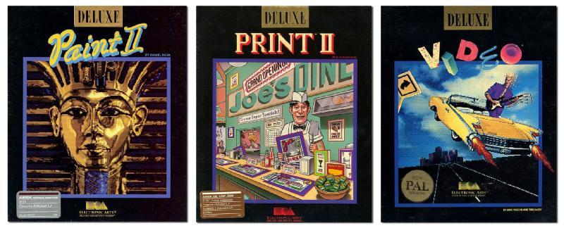 Deluxe Paint, Print, Video