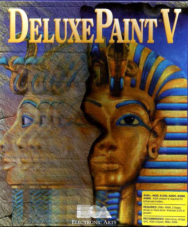 Deluxe Paint V