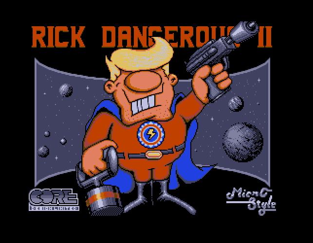 Déplombage de Rick Dangerous 2