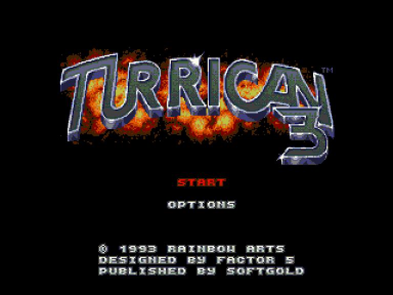 Déplombage de Turrican 3