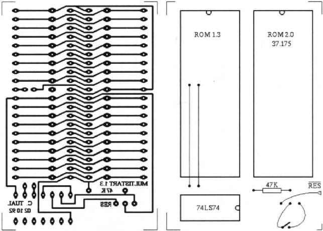 Disposer de deux ROM à moindres frais sur Amiga 500