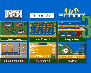 Fun School 3 (For The 5 to 7 Year Olds)