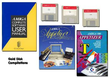 Gold Disk compilations