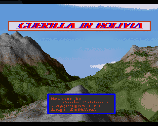 Guerilla In Bolivia