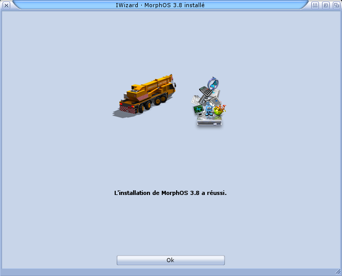Installation MorphOS 3.x