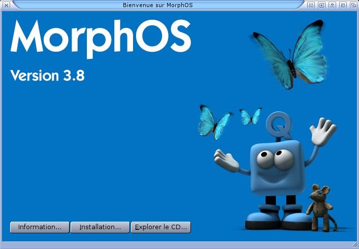 Installation MorphOS 3