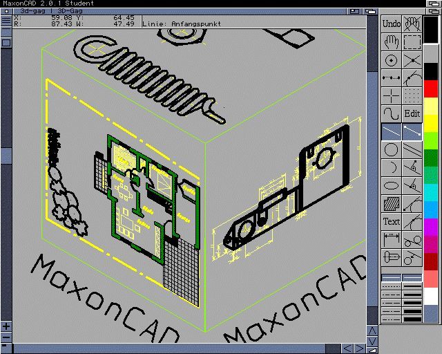 Maxon CAD 2.0