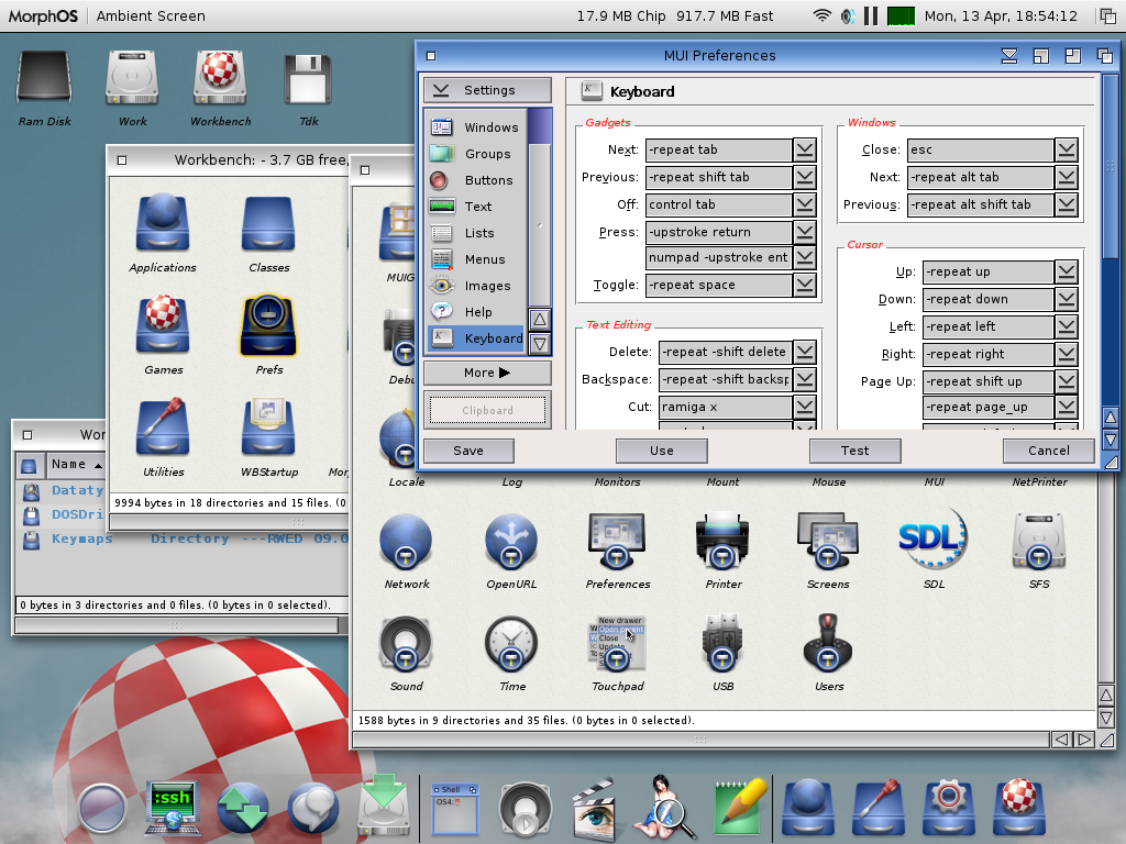 MorphOS + OS41FEist