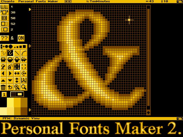 Personal Fonts Maker