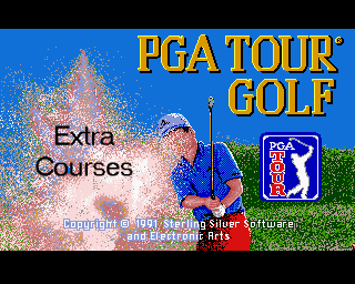 PGA Tour Golf: Tournament Course Disk
