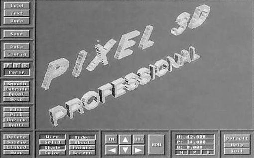 Pixel 3D Professional