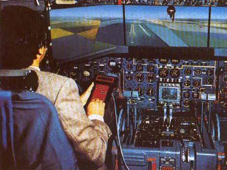 Simulateur A320 de Thomson CSF