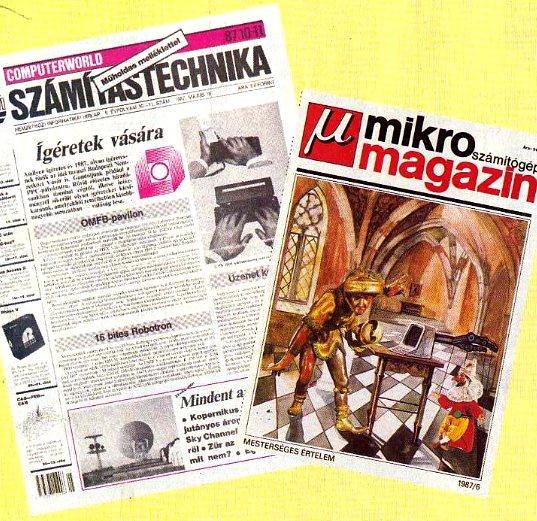 situation informatique hongrie 1987