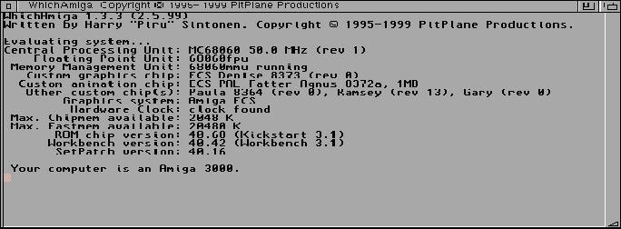Which Amiga