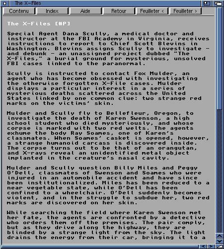 X-Files Guide