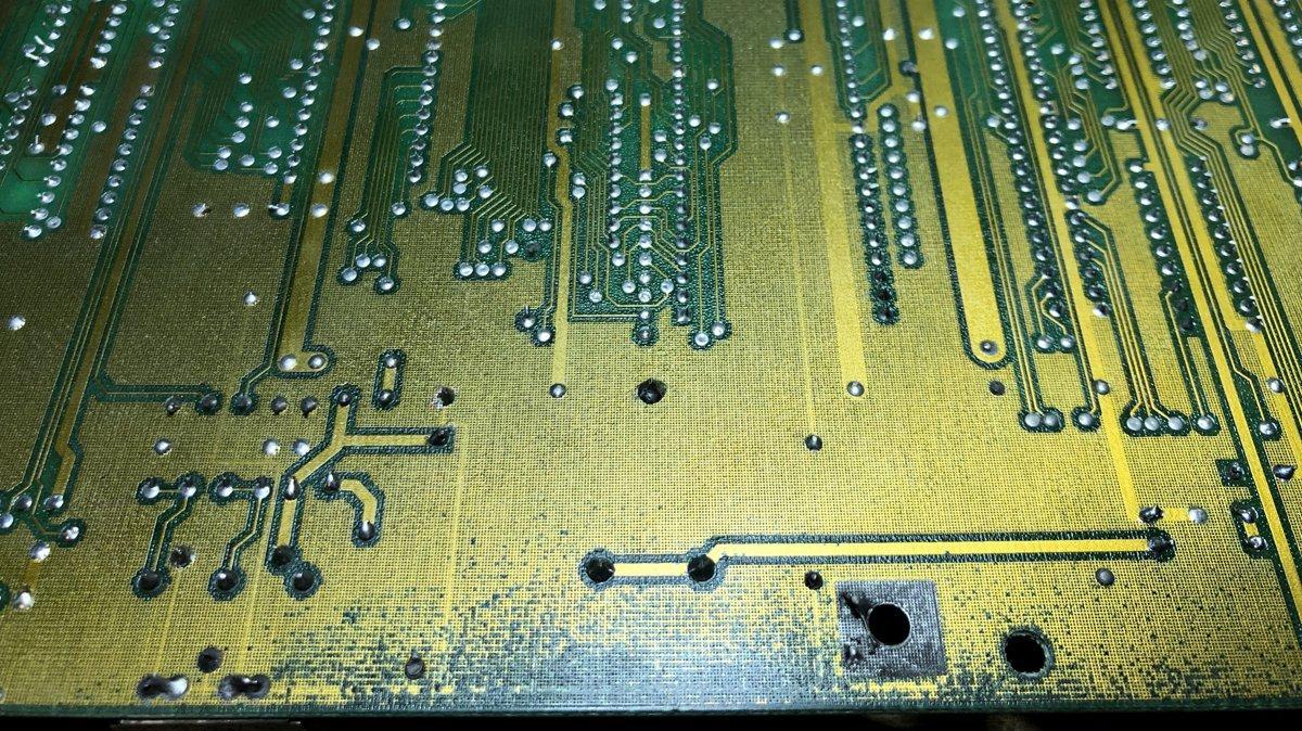 Remplacement de la batterie horloge d'un Amiga 2000