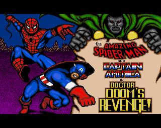 Amazing Spider-Man And Captain America in Doctor Doom's Revenge!