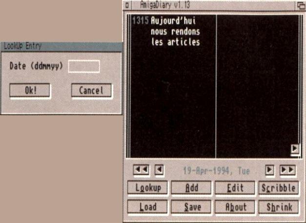 Amiga Diary 1.13