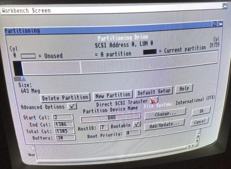 Installation AmigaOS 3.1.4