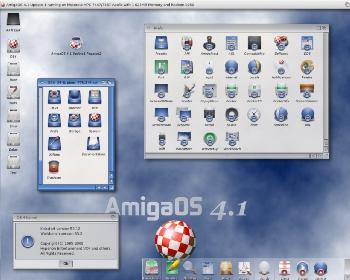 AmigaOS 4.1.1 sur Pegasos II
