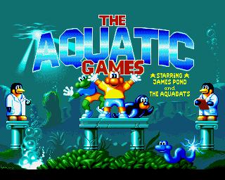 Aquatic Games, The: Starring James Pond And The Aquabats