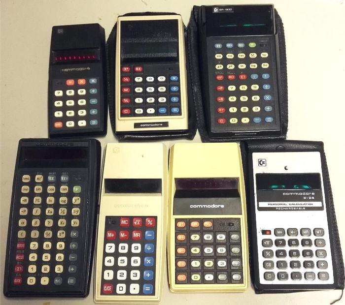 Calculatrices Commodore