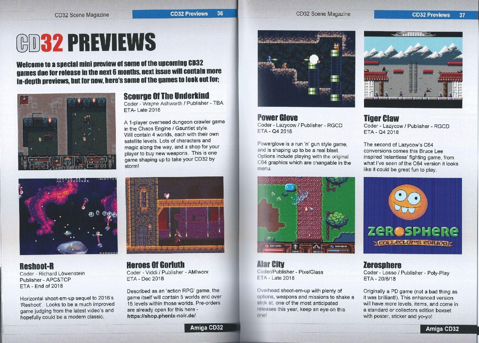 CD32 Scene Magazine