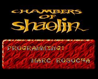 Chambers Of Shaolin