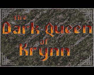 Dark Queen Of Krynn