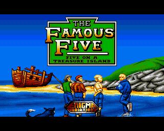 Famous Five, The: Five On A Treasure Island