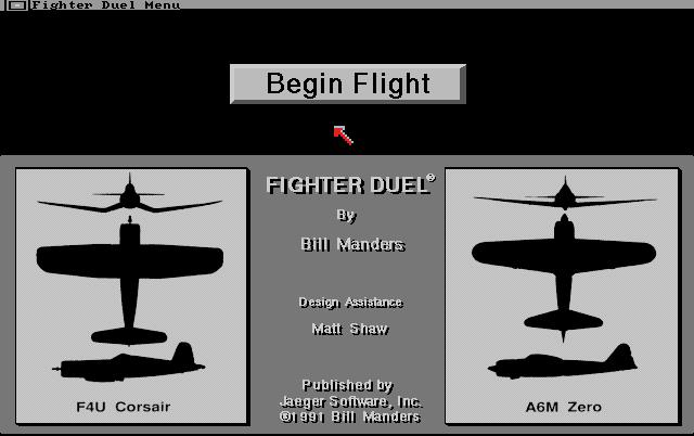 Fighter Duel: Corsair vs Zero