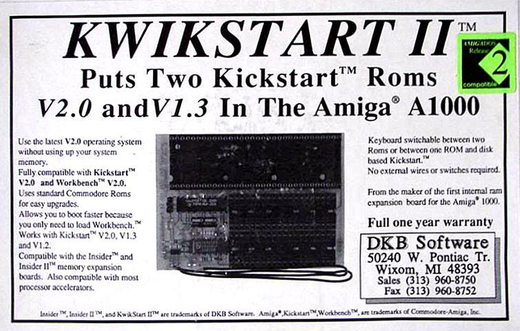 KwikStart II