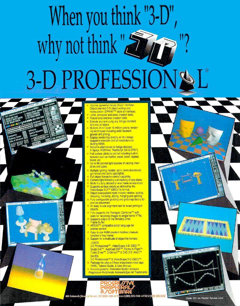 Progressive Peripherals and Software