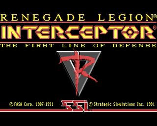 Renegade Legion Interceptor