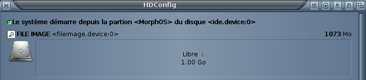 HDConfig