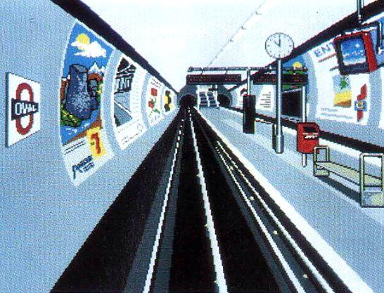 Simulation métro de Londres