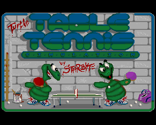Turtle Table Tennis Simulation